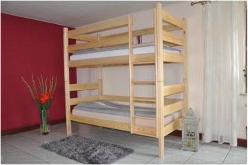 Łóżko Sosnowe P-II
