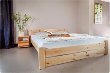 Łóżko Sosnowe T2